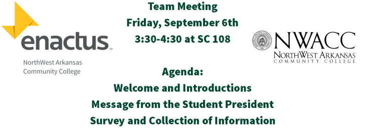 Team Meeting Tomorrow!